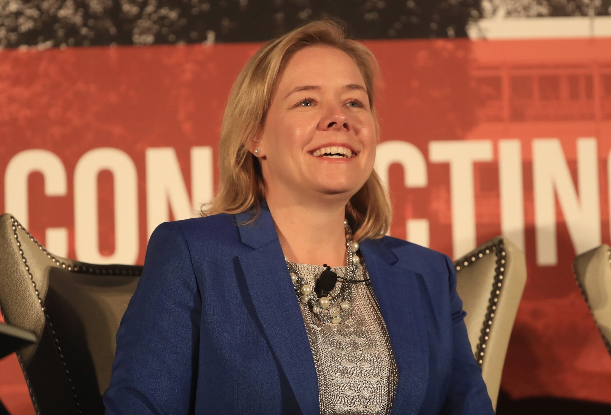 """USOC chief executive Sarah Hirshland said Kathy Carter's vision will be a """"powerful guiding force"""" ©Getty Images"""