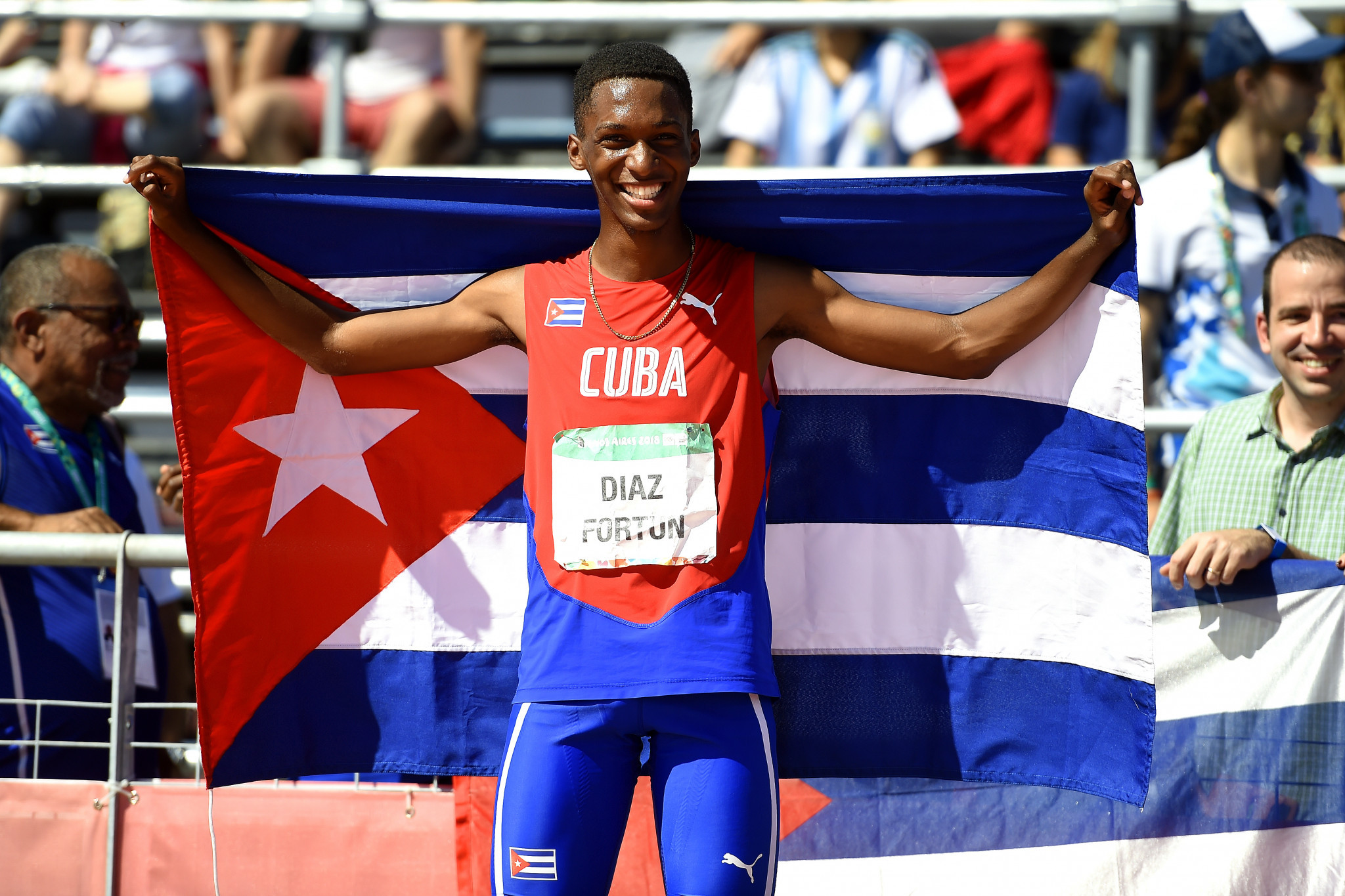 World under-20 champions enhance reputations with triple jump golds at Buenos Aires 2018