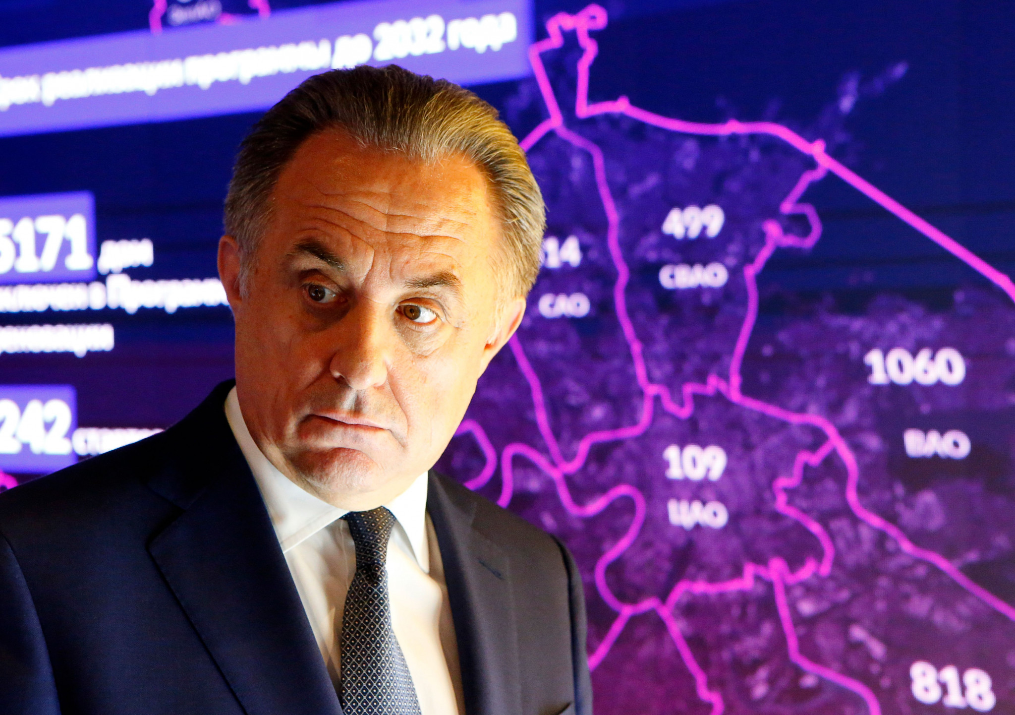 Confusion surrounds Vitaly Mutko's return to the position of Russian Football Union President ©Getty Images