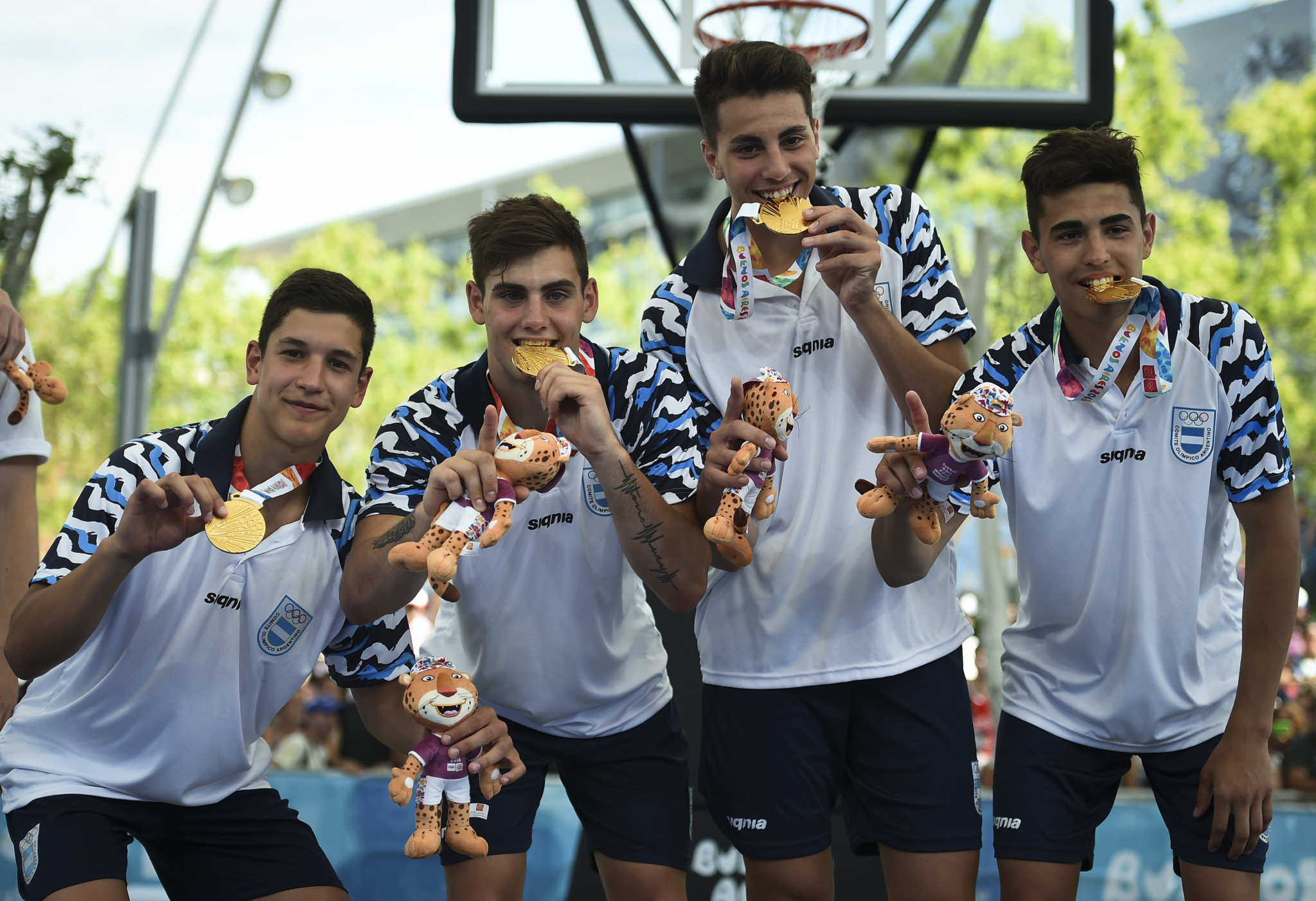 Argentina crowned men's 3x3 basketball champions on penultimate day at Buenos Aires 2018