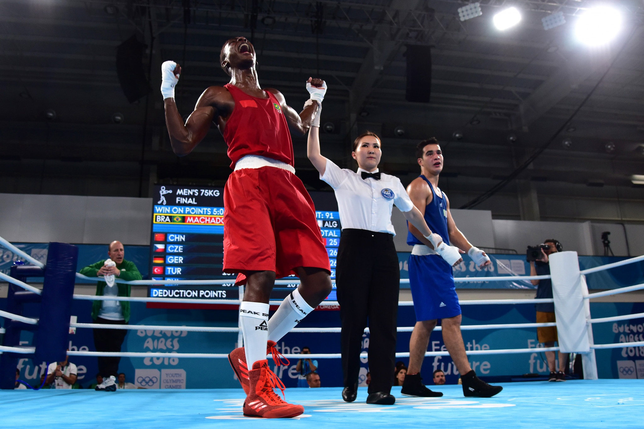 The first boxing gold medals of Buenos Aires 2018 were earned today ©Getty Images