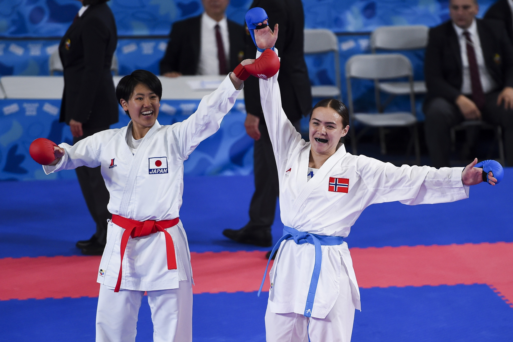 Three karate titles were claimed on the final day of competition ©Getty Images