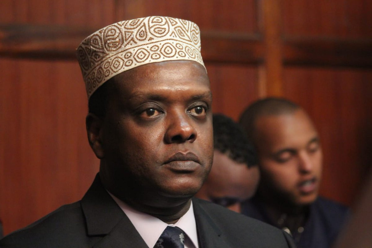Kenya's former Sports Cabinet Secretary Hassan Wario, now his country's Ambassador to Austria, appeared before an Anti-Corruption Court today and was charged with six counts of abuse of office ©YouTube