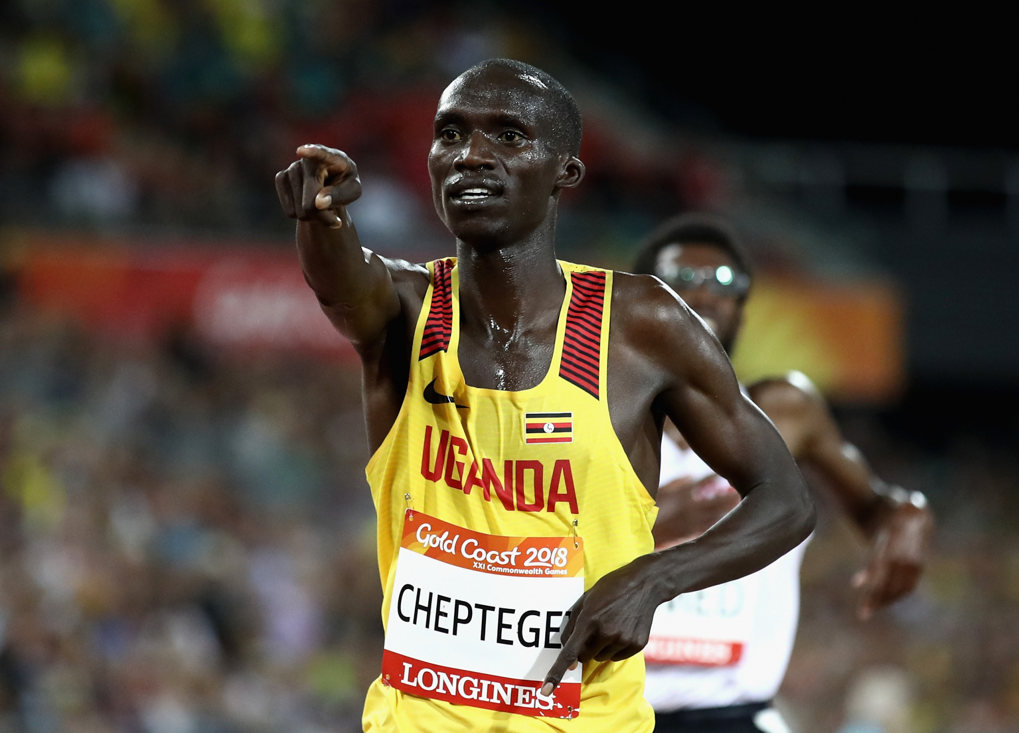 Uganda Joshua Kiprui Cheptegei won Commonwealth Games gold medals in the 5,000 and 10,000 metres at Gold Coast 2018 - an event where six of his team-mates failed to return home afterwards ©Getty Images