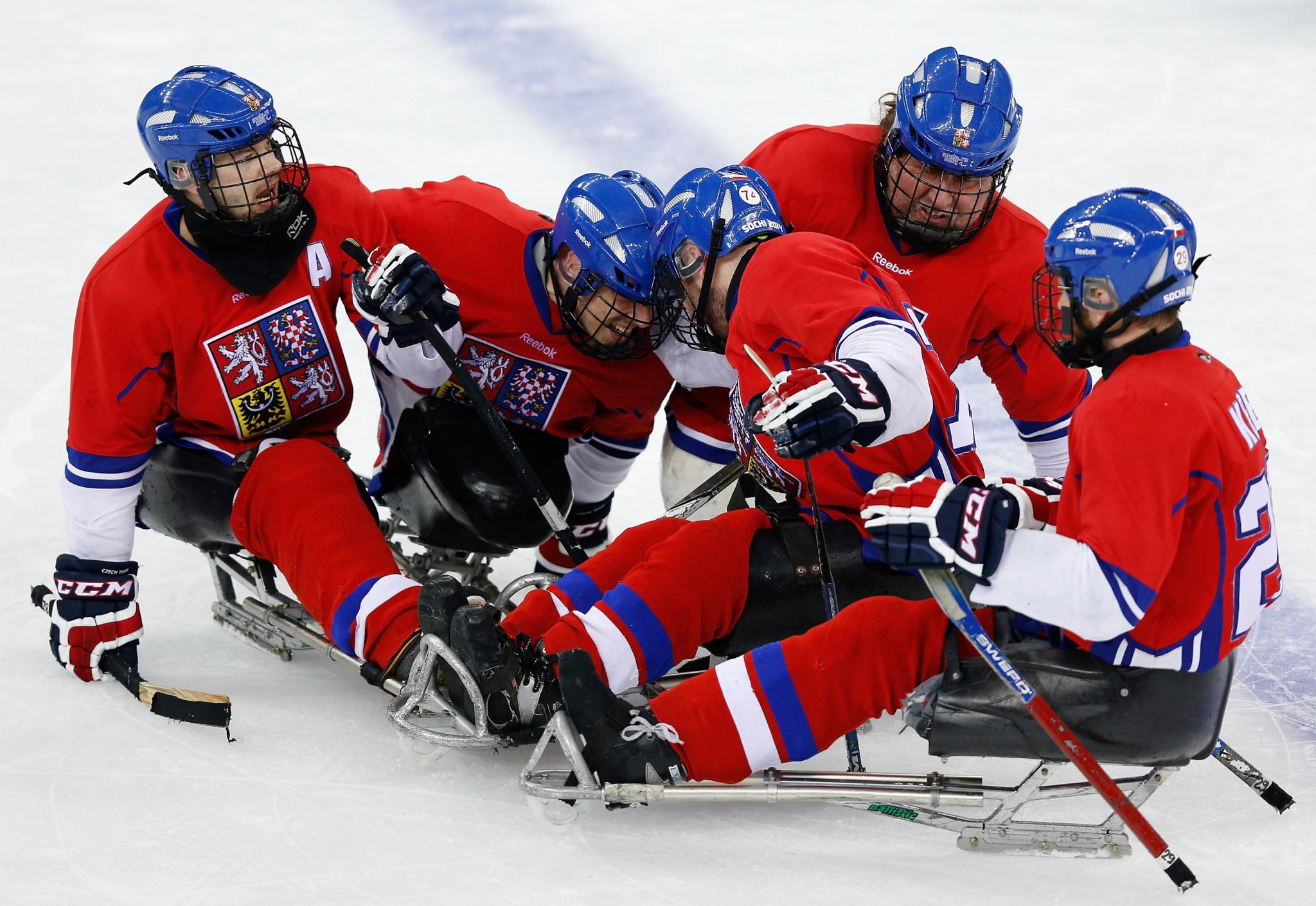 Ostrava to host 2019 World Para Ice Hockey Championships