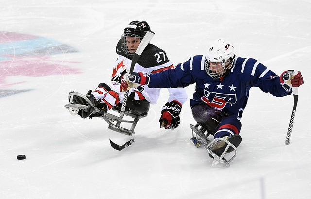 Canada beat the United States in the final of the 2017 World Para Ice Hockey Championships in Gangneung ©IPC/Flickr