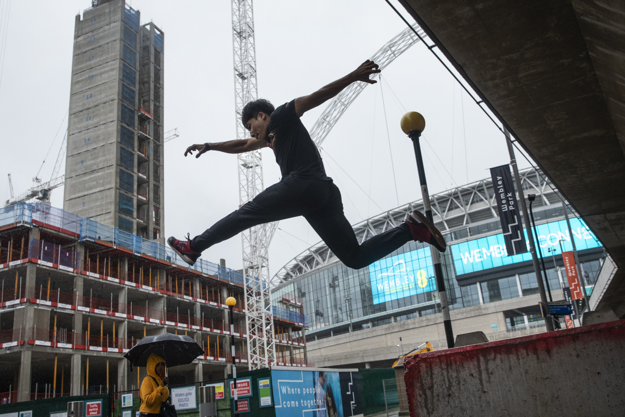 The FIG's venture into parkour has hit a major stumbling block ©Getty Images