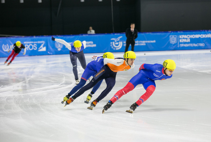 The short track event was praised by officials from FISU and the Russian Skating Union ©Krasnoyarsk 2019
