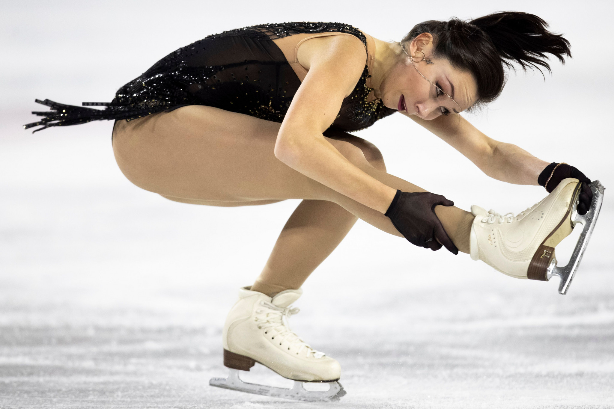 Russia's Elizaveta Tuktamysheva sealed victory in the women's event ©Getty Images