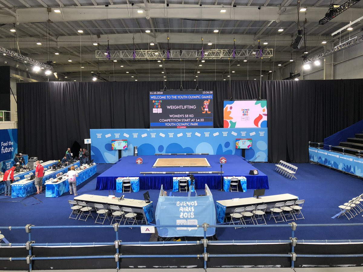 IWF reveals seven weightlifters unable to compete at Buenos Aires 2018 due to ADAMS whereabouts failures