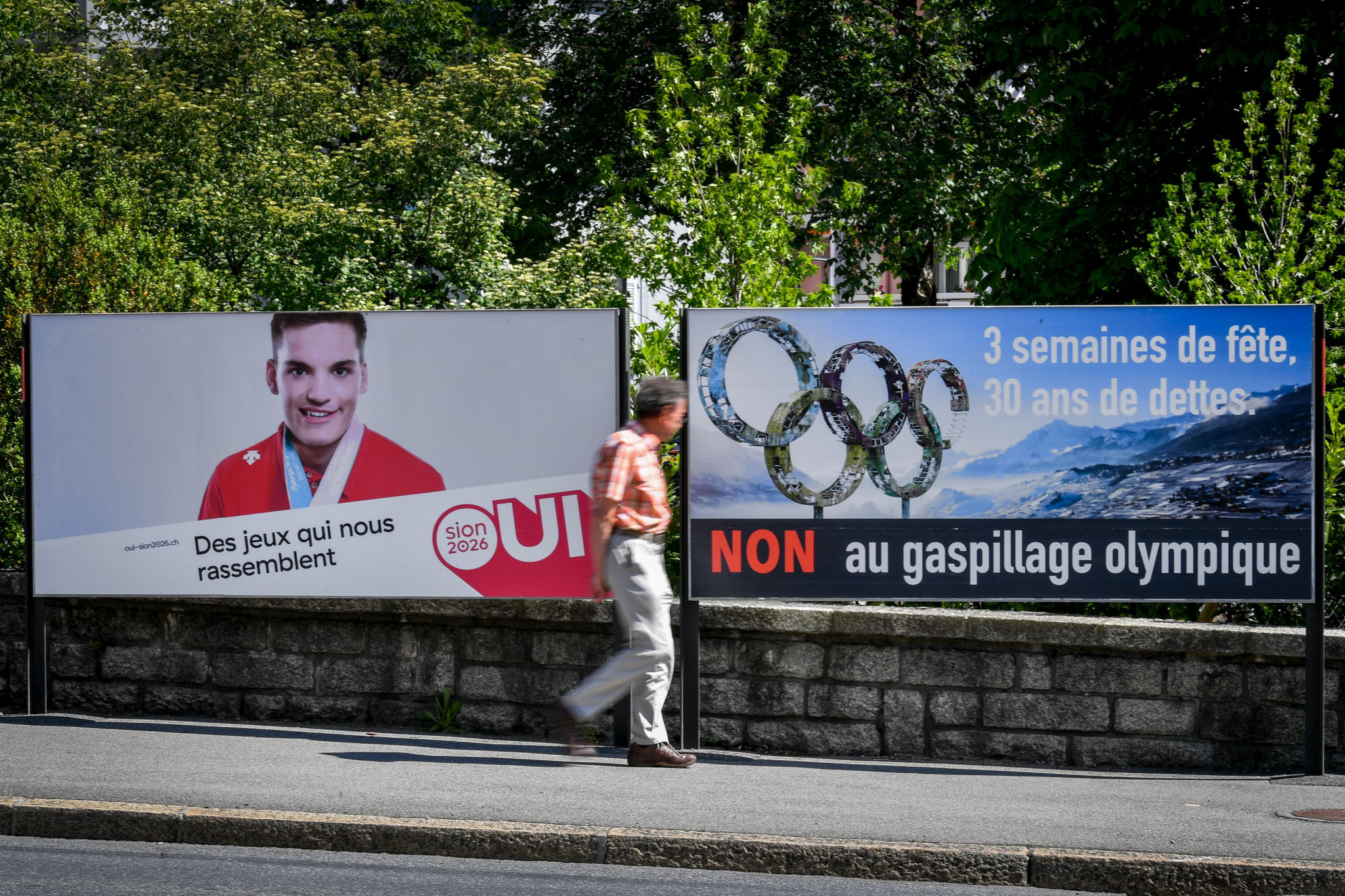 Sion was one of the recent bidding cities to withdraw from contention after losing a referendum ©Getty Images