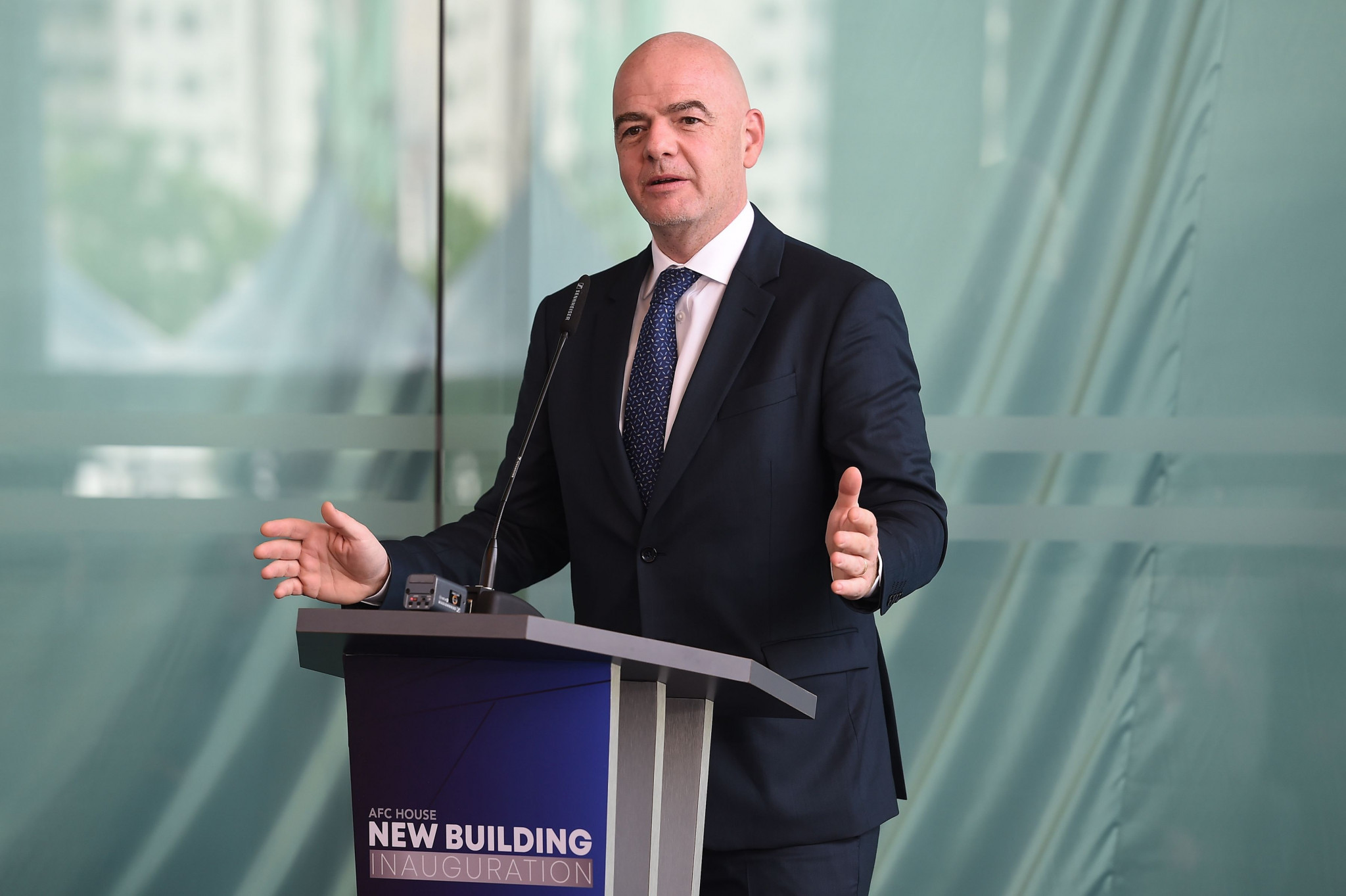 Exchanges involving FIFA President Gianni Infantino could be among those published by the media ©Getty Images