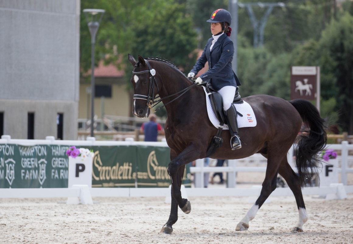 Spain's Villalba triumphs in INAS Para-equestrian video competition