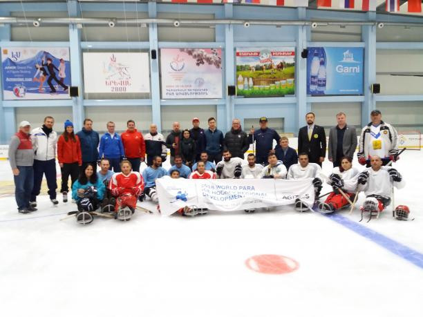 World Para Ice Hockey development camp held in Armenia