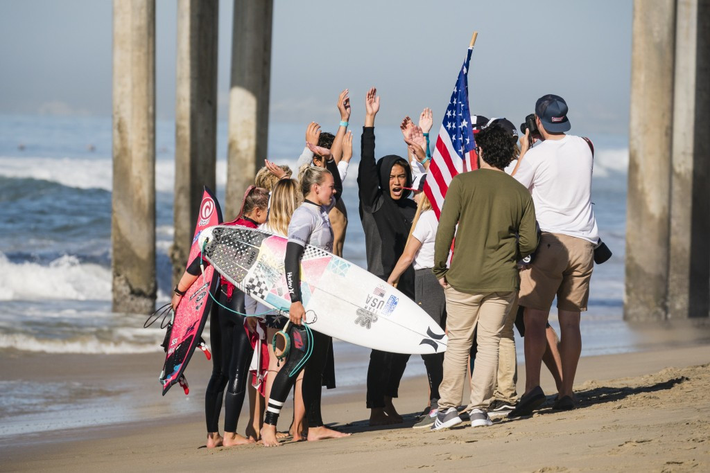 Hosts the United States still have all their surfers in action after six days at the ISA World Junior Championships ©ISA/Ben Reed