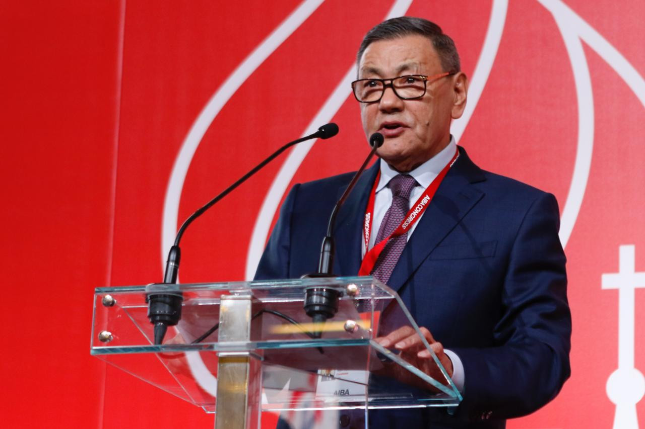 Gafur Rakhimov polled 86 of 134 votes to be elected President of AIBA, something which has upset the IOC and could lead to them suspending the world governing body ©Boxing Federation of Russia