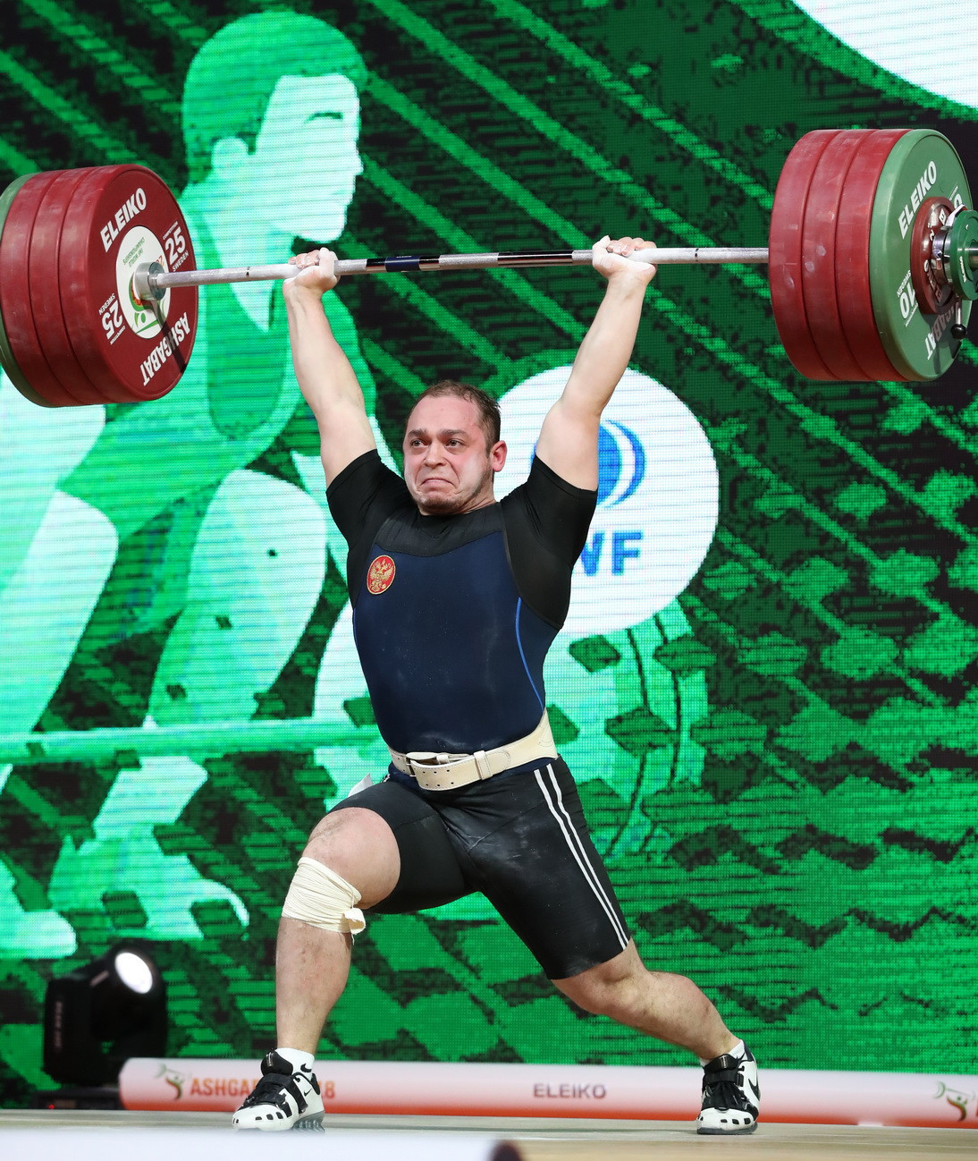 Artem Okulov secured Russia their first two medals of the 2018 IWF World Championships in Ashgabat yesterday ©IWF