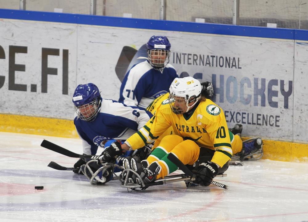 Hosts Finland beat newcomers Australia at World Para Ice Hockey Championships C-Pool