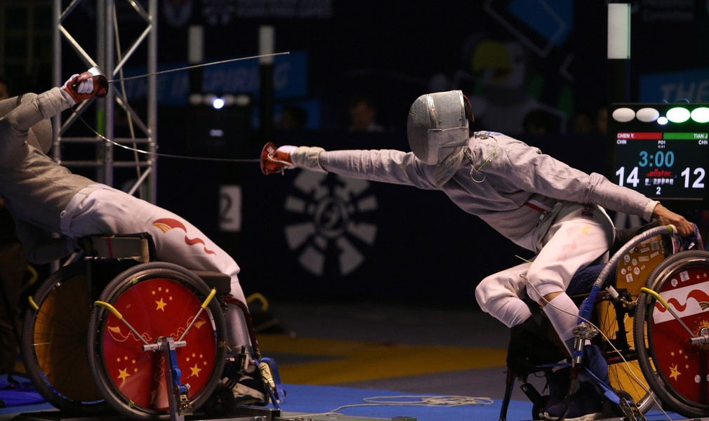 The IWAS Wheelchair Fencing World Cup, the first event to take place in the qualification period for the 2020 Paralympics in Tokyo, begins tomorrow in Georgia ©IWAS