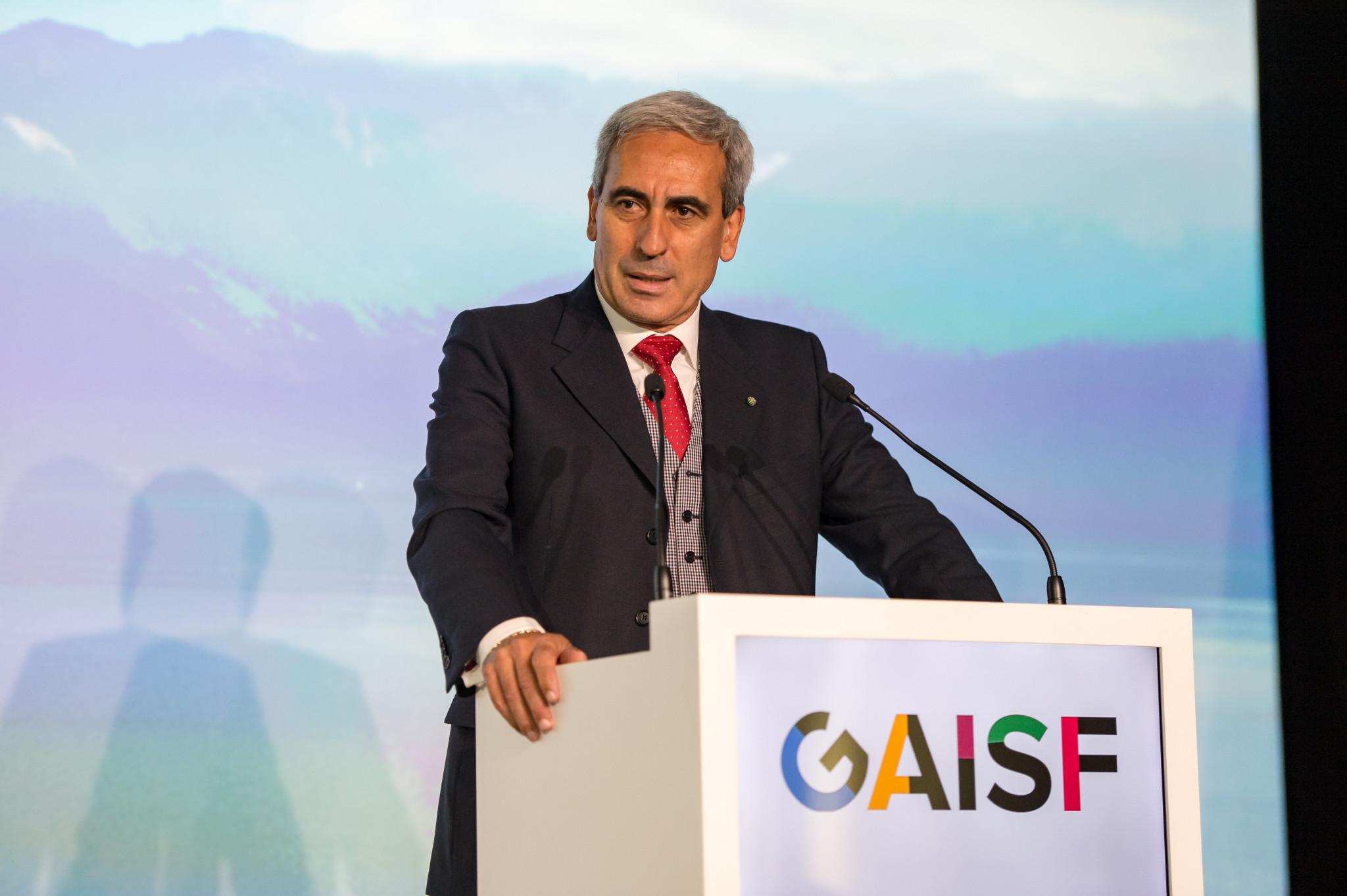 GAISF President Chiulli lauds Tokyo 2020 Olympics hosting