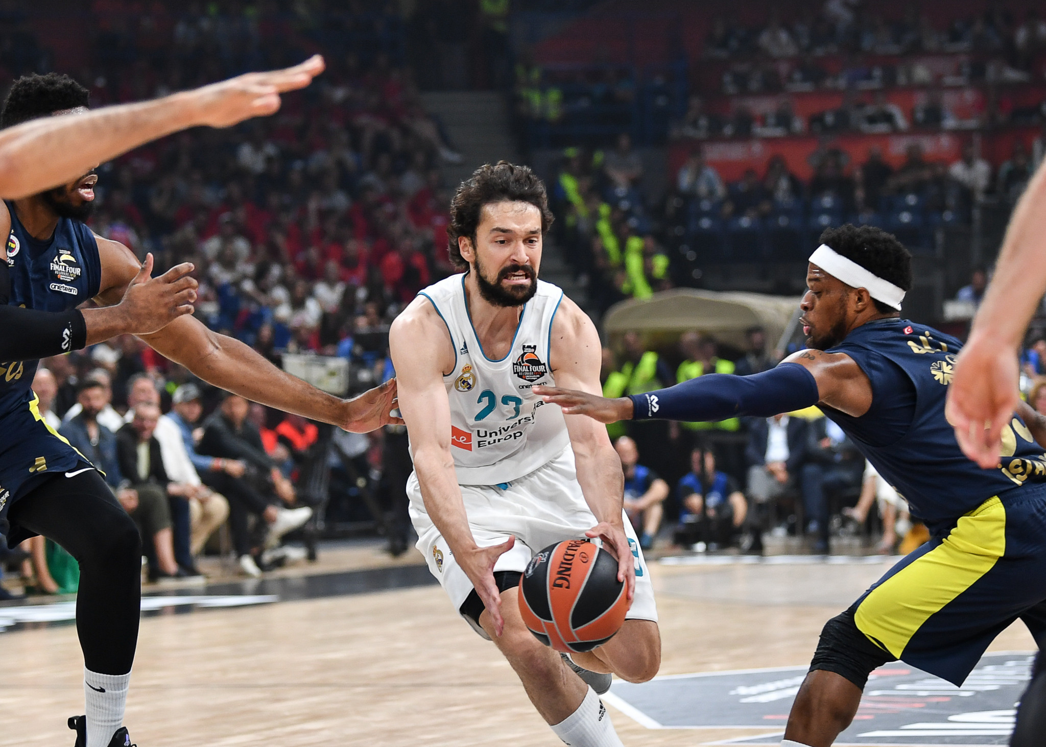 EuroLeague and the International Basketball Federation have been in dispute over their competitions ©Getty Images