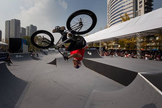 Benegas and Dowell earn BMX freestyle gold as US finish UCI Urban Cycling World Championships on a high