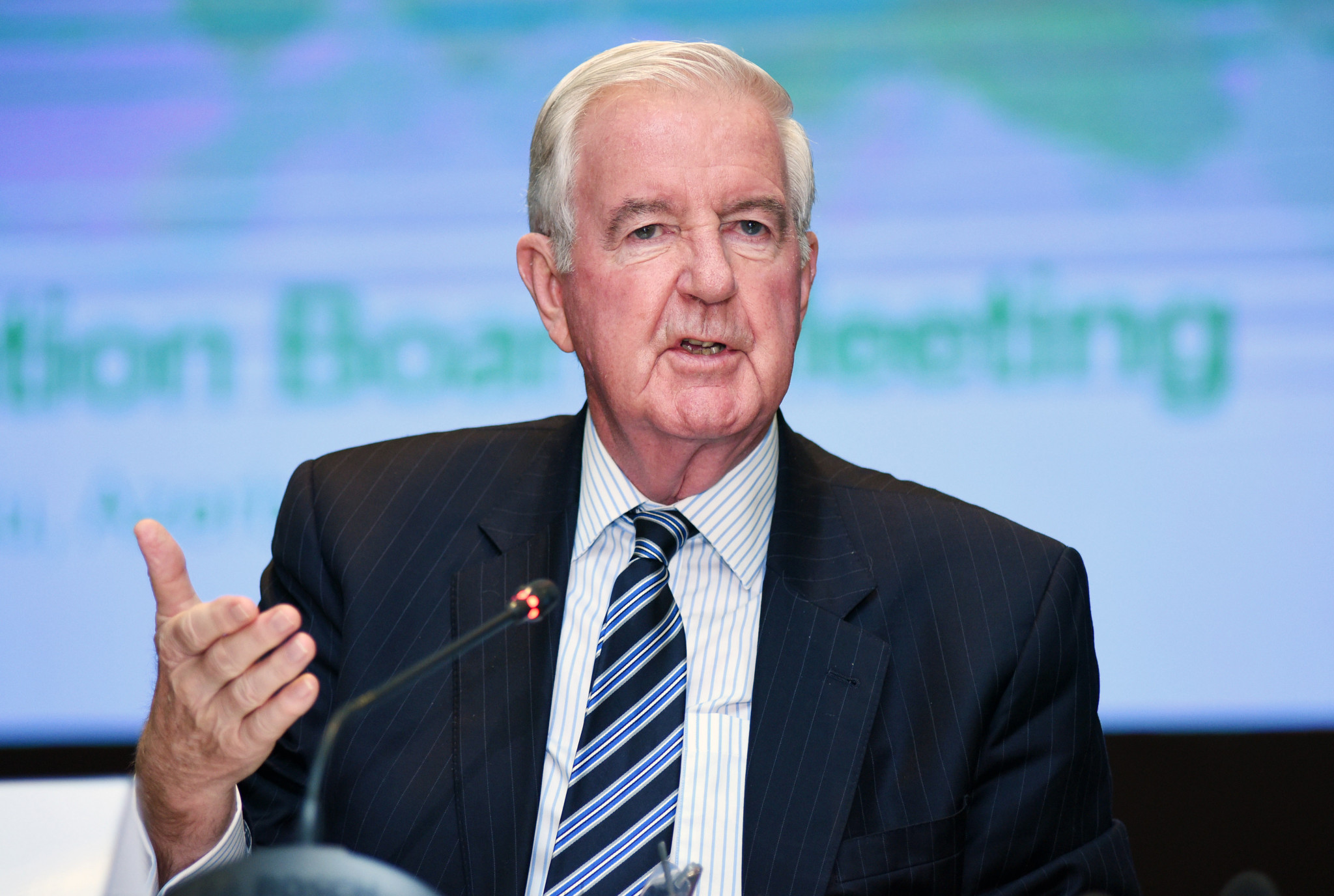 """WADA President Sir Craig Reedie provided a """"100 per cent"""" guarantee they will get the access to the Moscow Laboratory in Russia ©Getty Images"""