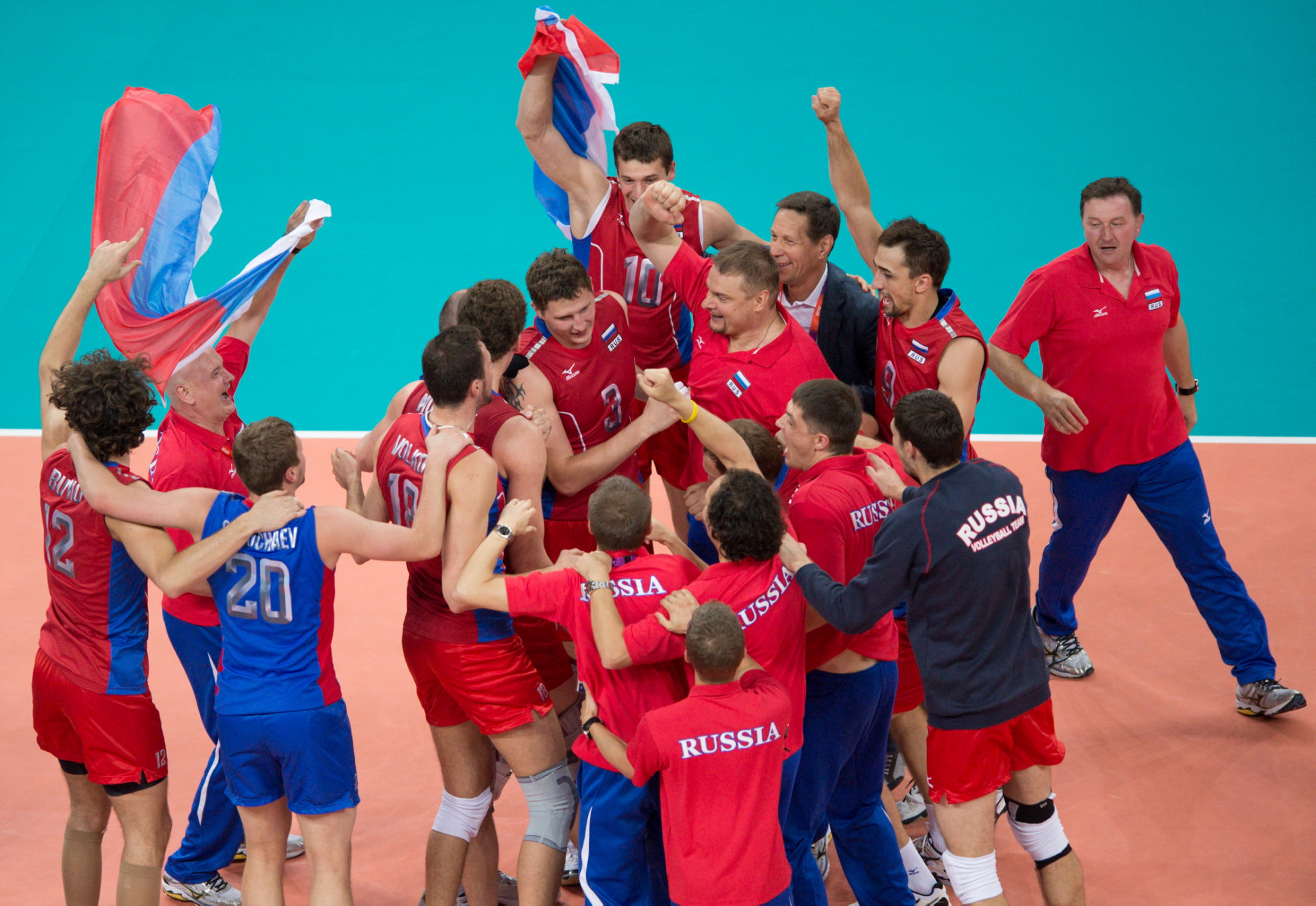 Volleyball has grown in popularity in Russia in recent years, the FIVB claim, thanks to the success of the men's team, including winning the Olympic gold medal at London 2012 ©FIVB
