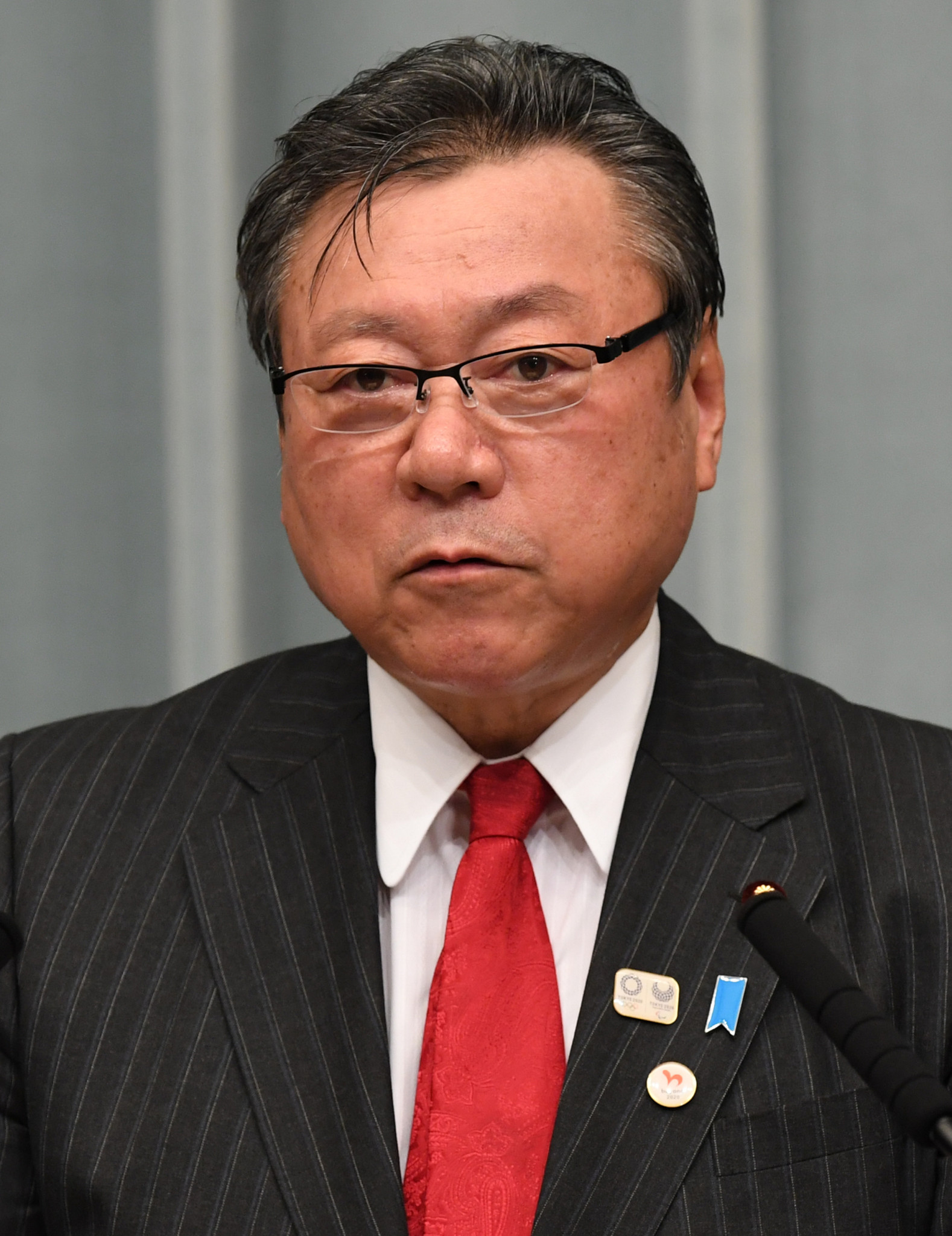Yoshitaka Sakurada, the Minister responsible for cyber-security at Tokyo 2020, told Parliament he has never used a computer ©Getty Images