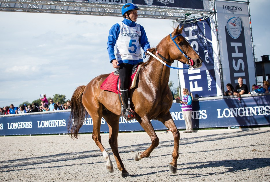 Endurance racing has presented challenges to the FEI ©FEI