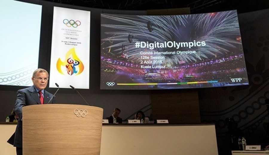 Media expert Sir Martin Sorrell had urged the IOC to use digital techologies to compliment their TV Channel at this year's IOC Session