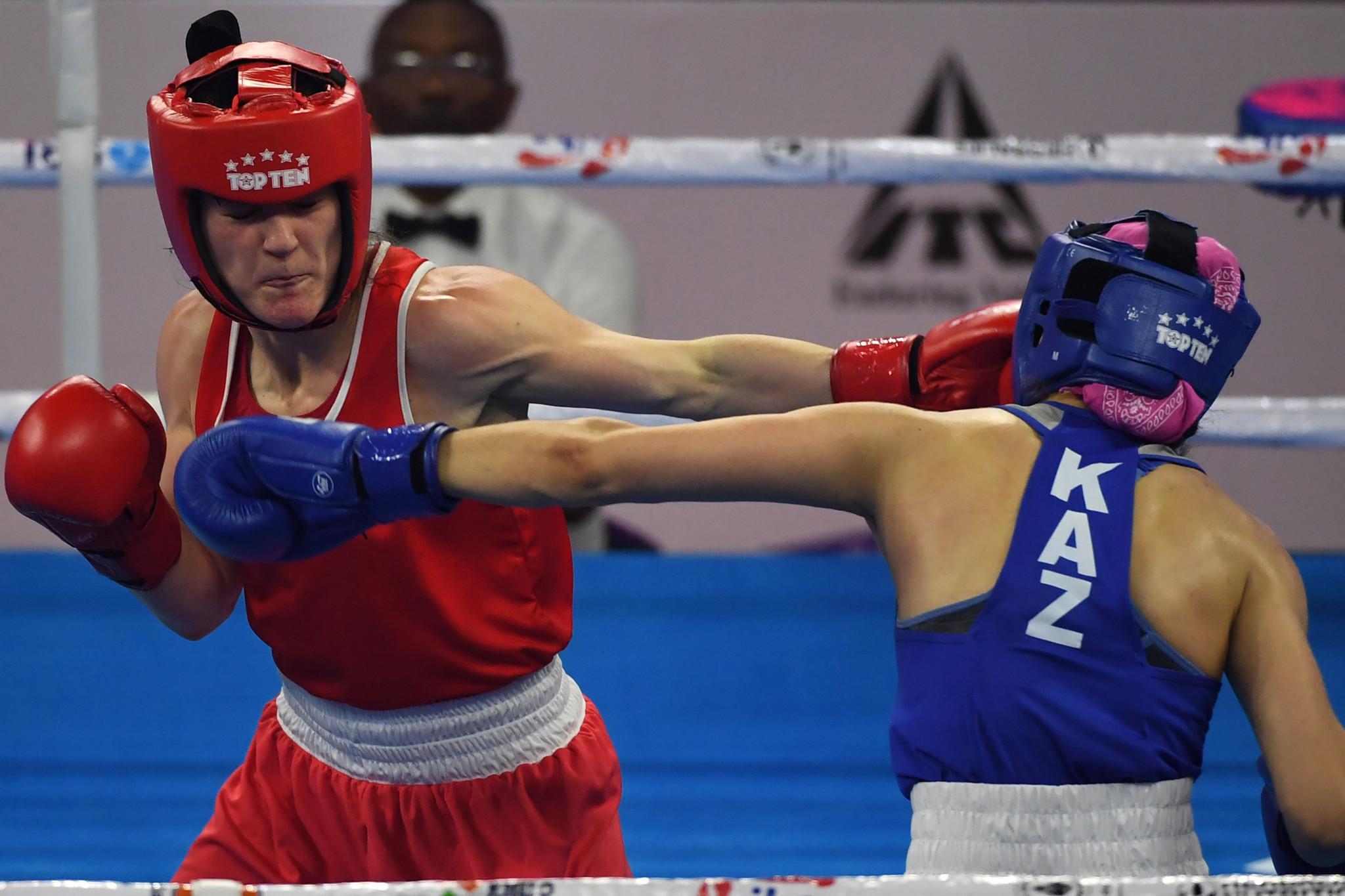 Harrington through to final again at AIBA Women's World Boxing Championships