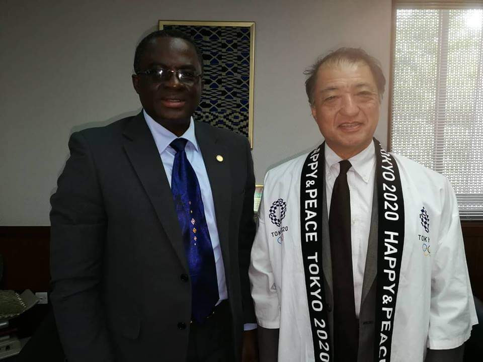 Ghana Olympic Committee President meets Japanese ambassador as country continues Tokyo 2020 preparations