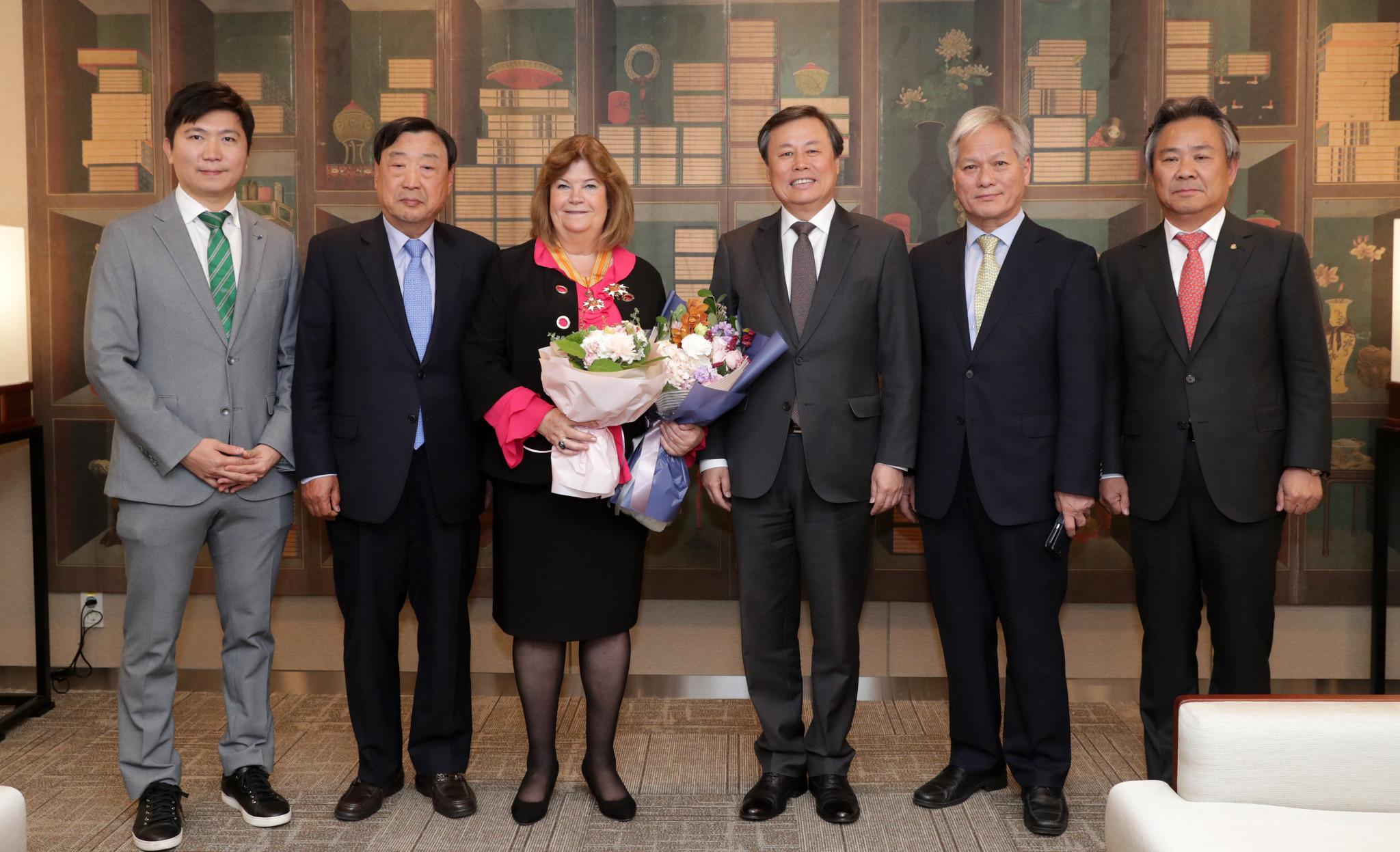 Lindberg receives prestigious award in recognition of Pyeongchang 2018 work