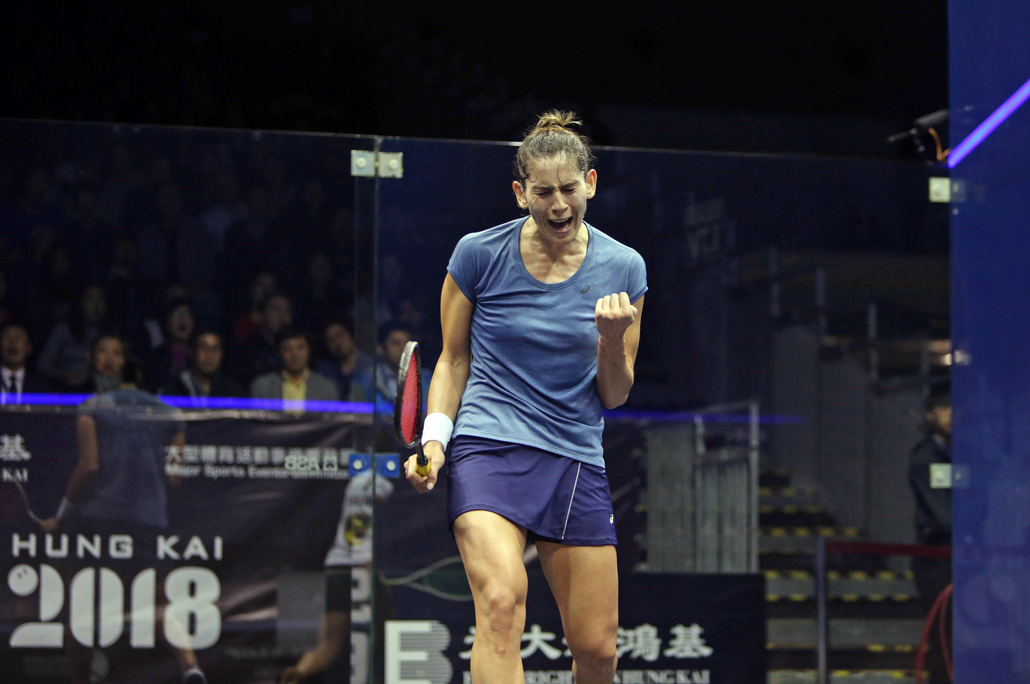 King defeats new world number one to claim first PSA Platinum World Tour title in Hong Kong