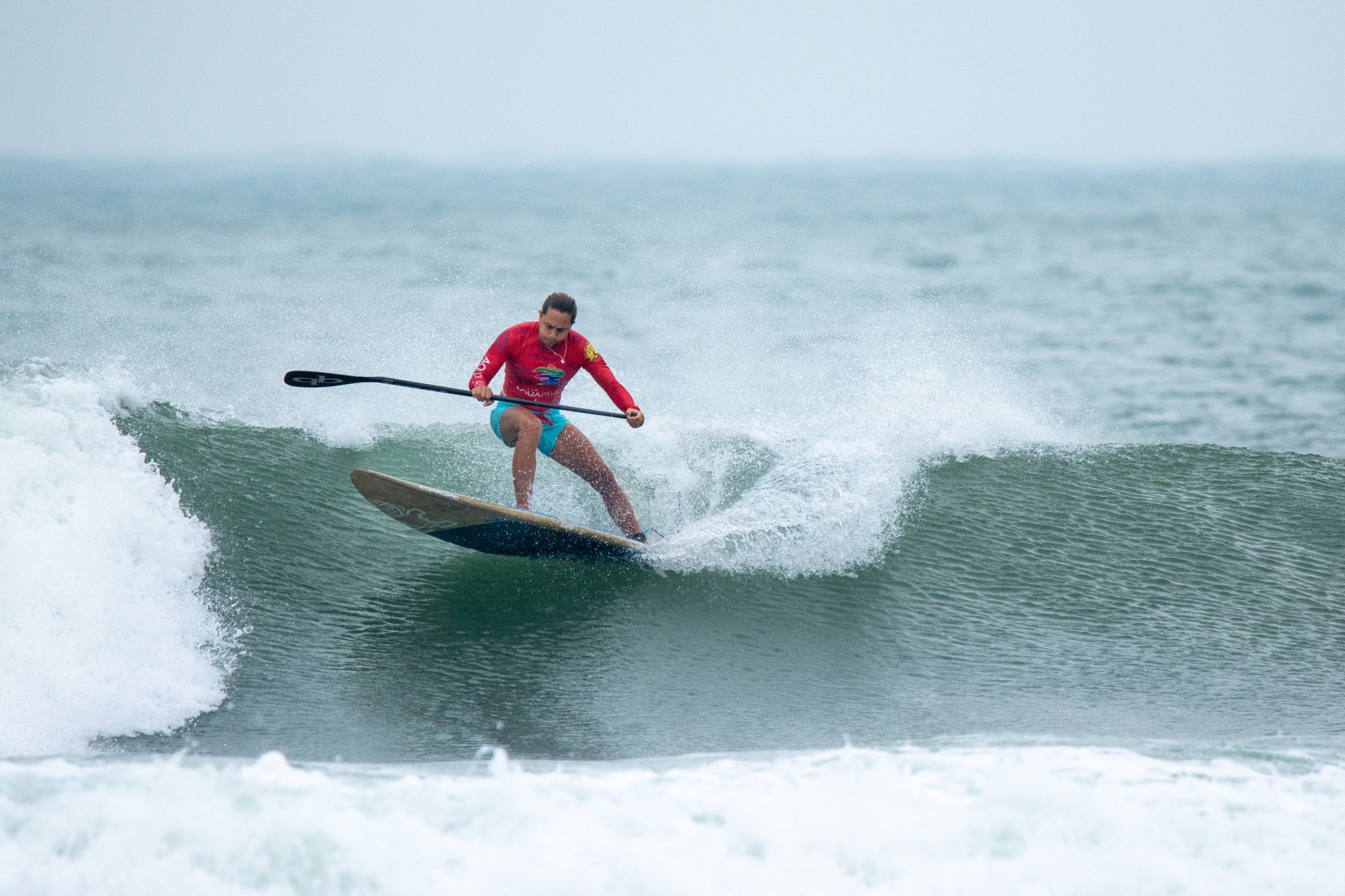 Australia's reigning women's world champion Shakira Westrop will have to continue to impress in the repechage rounds if she wants to retain her title ©ISA