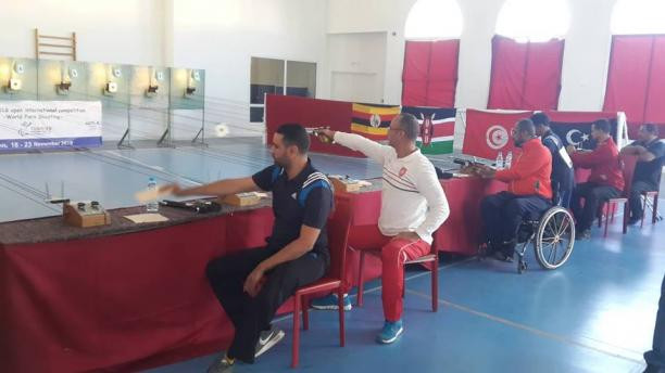 Tunis hosted the first shooting Para-sport international competition in Africa ©NPC Tunisia