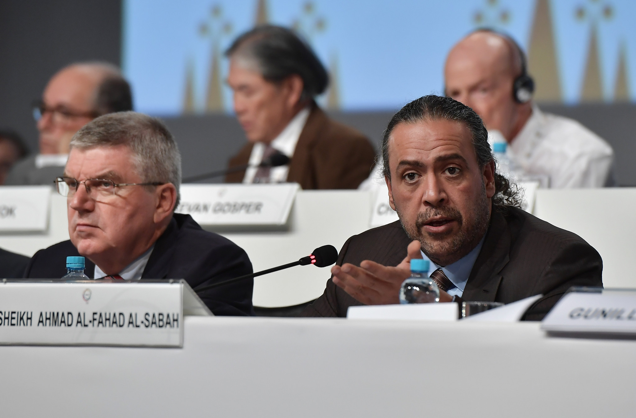 IOC President Thomas Bach has asked Sheikh Ahmad to stand aside as head of ANOC ©Getty Images