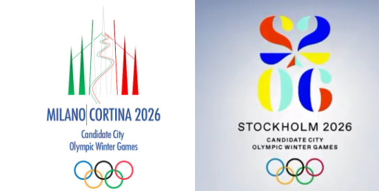 Milan-Cortina and Stockholm reveal logos as 2026 Winter Olympic hopefuls present proposals at ANOC General Assembly