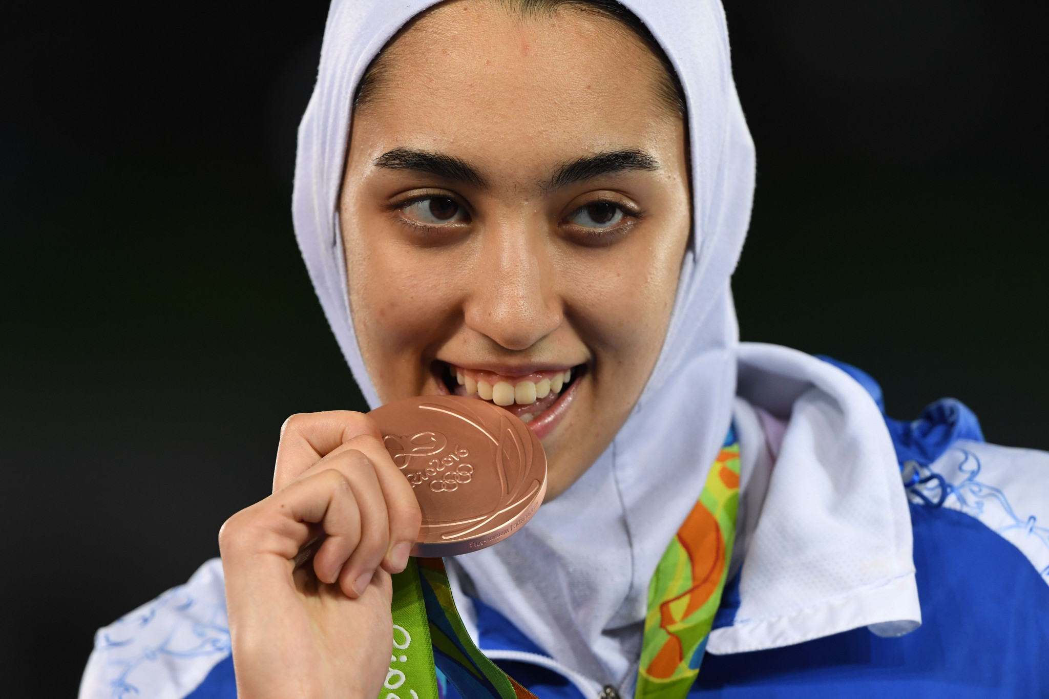 Kimia Alizadeh Zenoorin won bronze at the Rio 2016 Olympics ©Getty Images