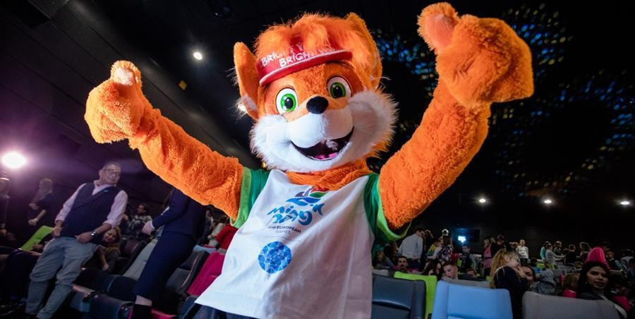 Lesik the fox has been unveiled as the mascot for the 2019 European Games in Minsk ©Minsk 2019