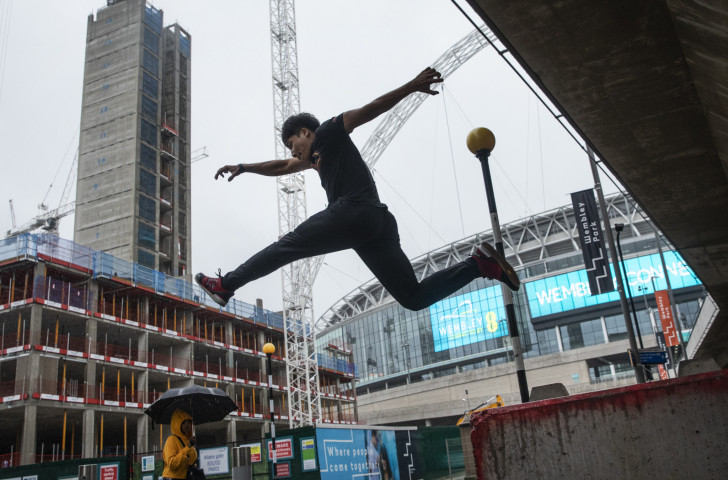 For traditional exponents of parkour, being in a competitive arena is anathema. It is not about competition, and they say it is not gymnastics ©Getty Images