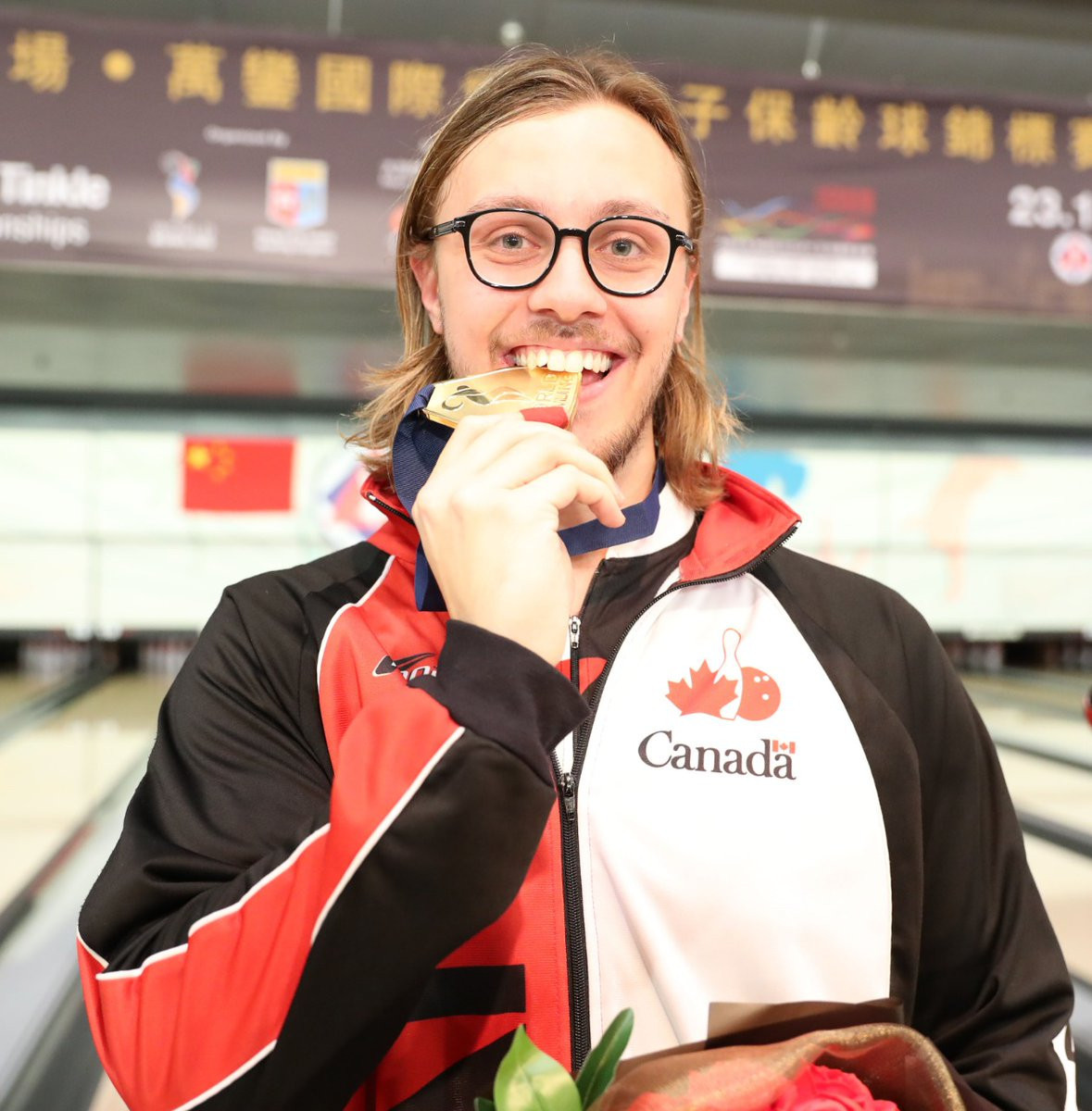 Canada's Mitch Hupé swept aside the United States' Kyle Troup to claim the masters title on the final day of the Men's World Tenpin Bowling Championships in Hong Kong ©World Bowling/Twitter
