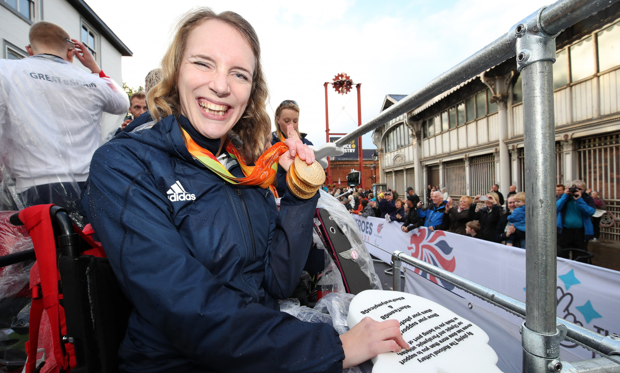 IPC unveil film to showcase London 2012 Paralympic Games employment legacy