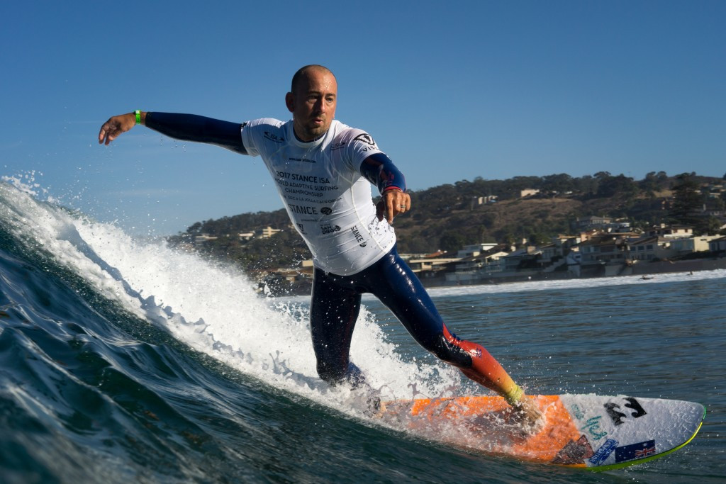 Adaptive surfing is set to enjoy better development thanks to a new certification programme ©ISA