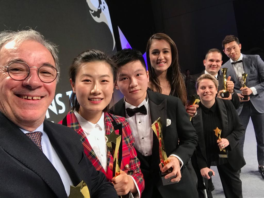 The International Table Tennis Federation have held their Star Awards ceremony ahead of the World Tour Finals in Incheon ©ITTF