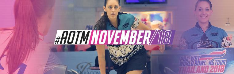 Ten-pin bowler Danielle McEwan has been named as The World Games athlete of the month for November ©IWGA