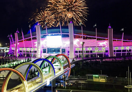 The Ashgabat Olympic Complex hosted 11 days of competition in its state-of-the-art venues ©Ashgabat 2017