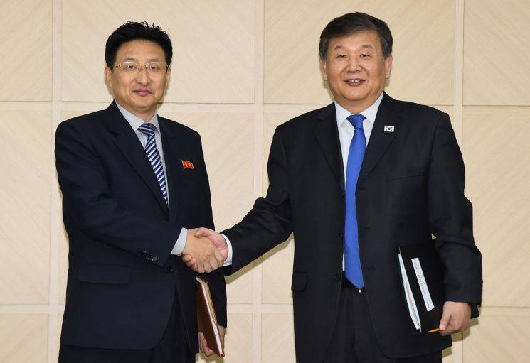 North and South Korean officials held their latest meeting in Kaesong ©South Korean Unification Ministry