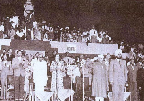 The first edition of the Asian Games was held in New Delhi in 1951 ©OCA